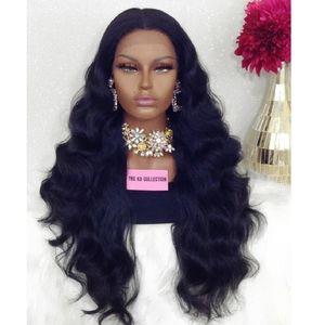 🆕SWISS LACE FRONT WIG MIDDLE PART